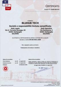 Certificazione EN ISO 9001